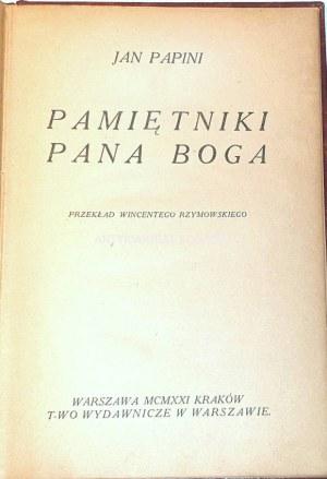 PAPINI - PAMIĘTNIKI PANA BOGA wyd.1