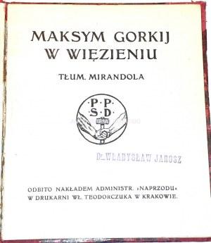 GORKIJ - W WIĘZIENIU wyd.1