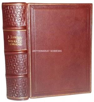 TUWIM- WIERSZE ZEBRANE wyd. 1938 dedykacja z autografem Autora
