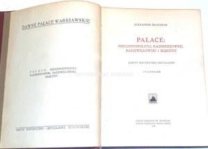 KRAUSHAR- DAWNE PAŁACE WARSZAWSKIE wyd. 1925