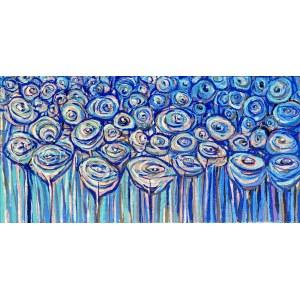 Urszula Szulborska, Kwiaty w błękitach