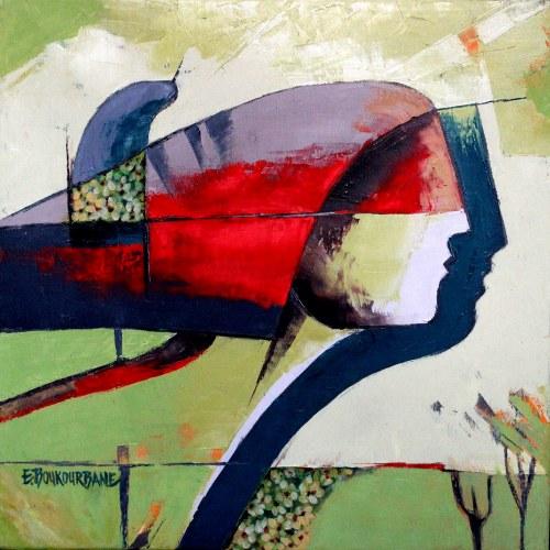 Elżbieta Boukourbane, W przestrzeni