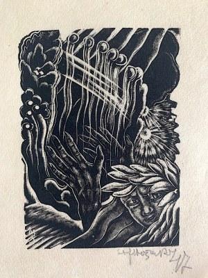 Stefan Mrożewski, Harfista z cyklu: Trzy miłości K. C. Norwida, Paryż 1947 r.