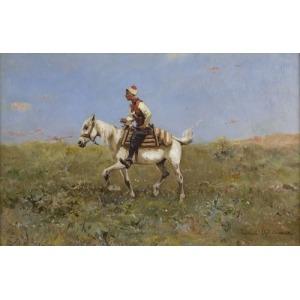 Tadeusz AJDUKIEWICZ (1852-1916), W stepie