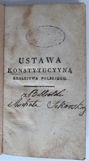 Ustawa Konstytucyyna Krolestwa Polskiego, 1815 r.