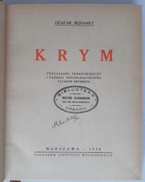 Sejdamet, Krym, Warszawa 1930 r.