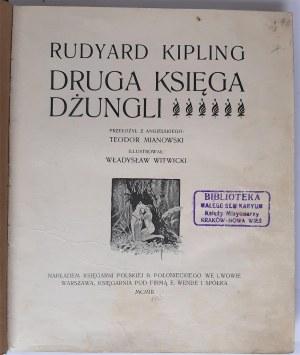 Kipling, Druga księga dżungli, Lwów 1903 r.
