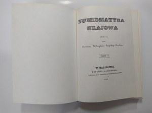 Stężyński Bandtkie, Numizmatyka krajowa. T. 1-2.