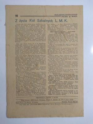 Polska na Morzu Pismo Ligi Morskiej i Kolonialnej. Nr 6 Rok 1935