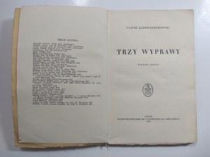 Kaden-Bandrowski, Trzy wyprawy, 1938 r.