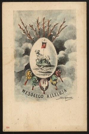 Wesołego Alleluja, Orzeł na pisance