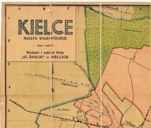 Plan Kielc, 1935 r.