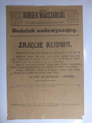 Afisz, Zajęcie Kijowa, 9 maja 1920