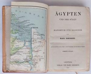 Baedeker, Agypten und der Sudan, 1913 r.