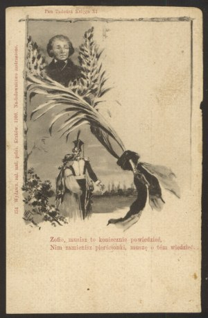 Mickiewicz, Apoteoza - Fragment Pana Tadeusza