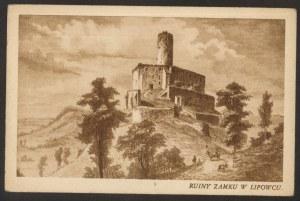 Lipowiec, Ruiny zamku