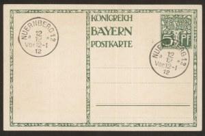 1821- 1911. Data 12.12.1912 r. Nuernberg