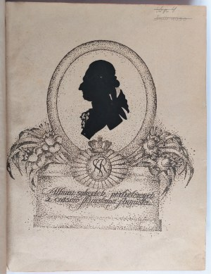 Treter, Sylwetki portretowe z czasów Stanisława Augusta, 1923 r.