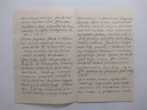 Pismo odręczne Haberlaua współwłaściciela apteki w Lublinie z dnia 25 stycznia 1913 r.
