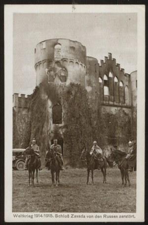 Zawada, Zamek z lat 1914/1915