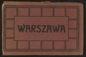Warszawa, Zestaw 10 pocztówek graficznych w etui