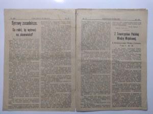 Wiadomości wojskowe, Rok I nr 37 Mińsk 16.12.1917 r.