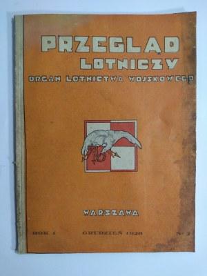 Przegląd Lotniczy Organ Lotnictwa Wojskowego Grudzień 1928 r. Rok I nr 2