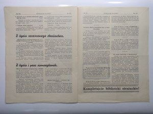 Strażak Śląski Rok VIII Katowice grudzień 1935 r. nr 12