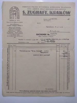 Kielce, Dwa pisma do zakładu Kazimierz Buraka, 1938 r.