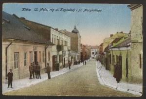 Kielce. ul. Mała, róg ul. Kapitulnej i pl. Maryackiego