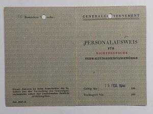 Radom/Kielce, Ausweis nr 81319 na nazwisko Krzywicka Maria