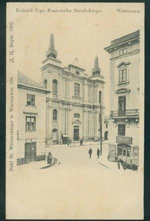 Warszawa, Kościół Ś-go Franciszka Serafickiego