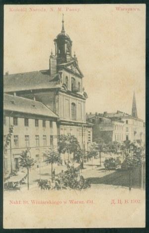 Warszawa, Kościół Narodz. N.M. Panny