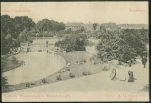 Warszawa, Park Ujazdowski (z retuszem)