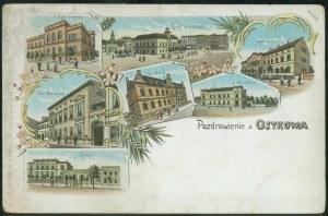 Ostrów Wlkp. m.in. Poczta, Browar