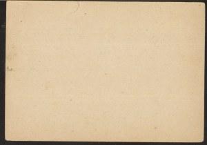 Karta pocztowa i zestaw znaczków Deutsches Reich