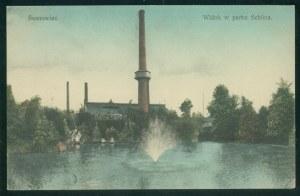 Sosnowiec, Widok w parku Schoena