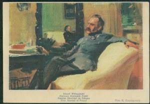 Józef Piłsudski, mal. F. Krzyżanowski