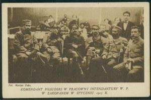 Komendant Piłsudski w Pracowni Komendantury, Zakopane