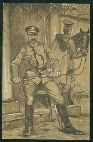 Józef Piłsudski, mal. T. Korpal