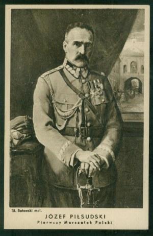 Józef Piłsudski, mal. St. Batowski