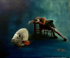 Grażyna Jeżak, Sen o złotej rybce, 2021
