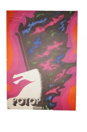 LIPIŃSKI Eryk - Potop [1974] reż. J. Hoffman, rozmiar ok. 57,5 x 81cm, PANAVISION