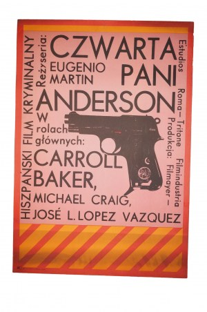 CZWARTA PANI ANDERSON [1971] francusko-włoski horror w reż. E.Martina