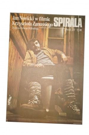 EROL Jakub - Spirala [1978] reż. K. Zanussi, rozmiar ok. 66,5 x 95,5cm