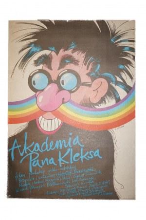 LUTCZYN Edward - Akademia Pana Kleksa [1984] reż. K. Gradowski, rozmiar ok. 67,5 x 95cm