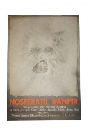 ZARADKIEWICZ Zygmunt - Nosferatu wampir [1979] reż. Werner Herzog, rozmiar ok. 66 x 97cm