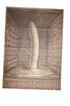 STAROWIEYSKI Franciszek - Przeprowadzka [1972] reż. Jerzy Gruza, rozmiar ok. 67,5 x 93,5cm