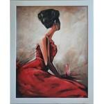Dariusz Benda, Dziewczyna w czerwonej sukience, 2020 r.