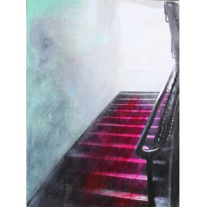 Alina Picazio, Akt schodzący po schodach, 2020-2021